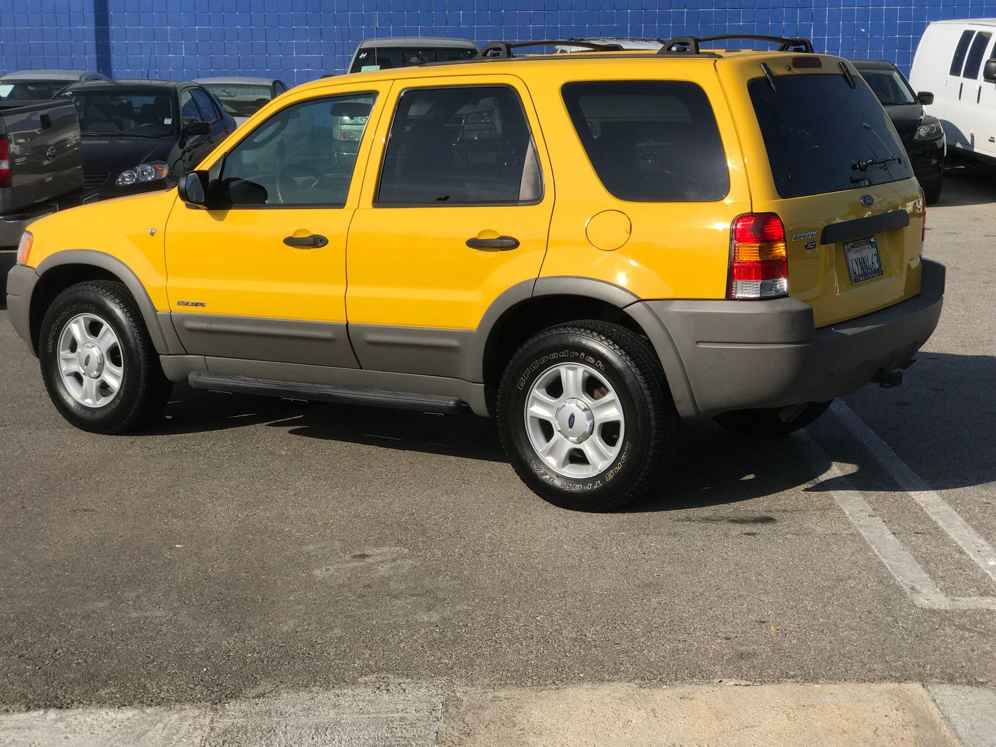 escape ford 2002 xlt premium vehicle basics
