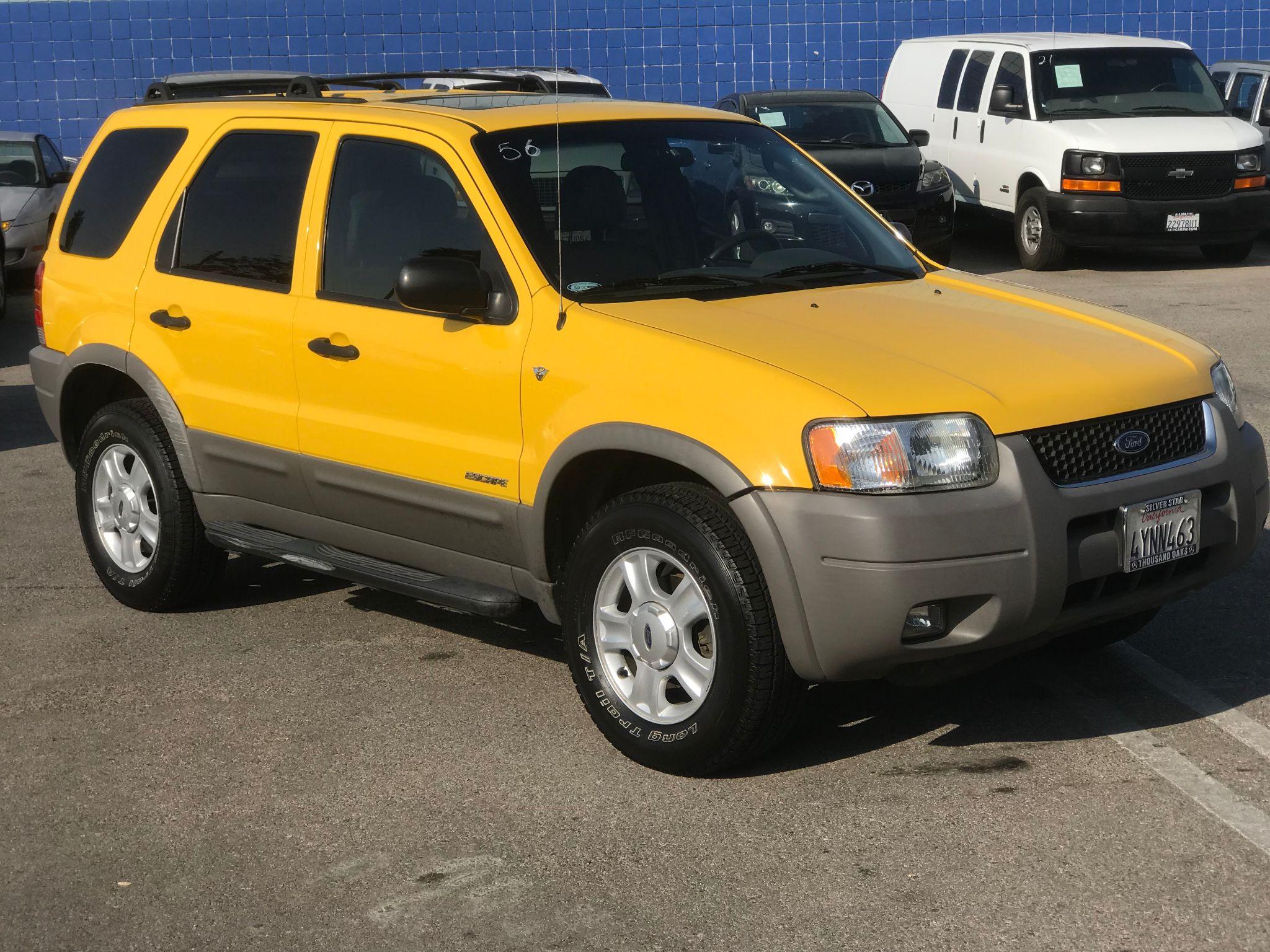 ford escape 2002 xlt premium vehicle