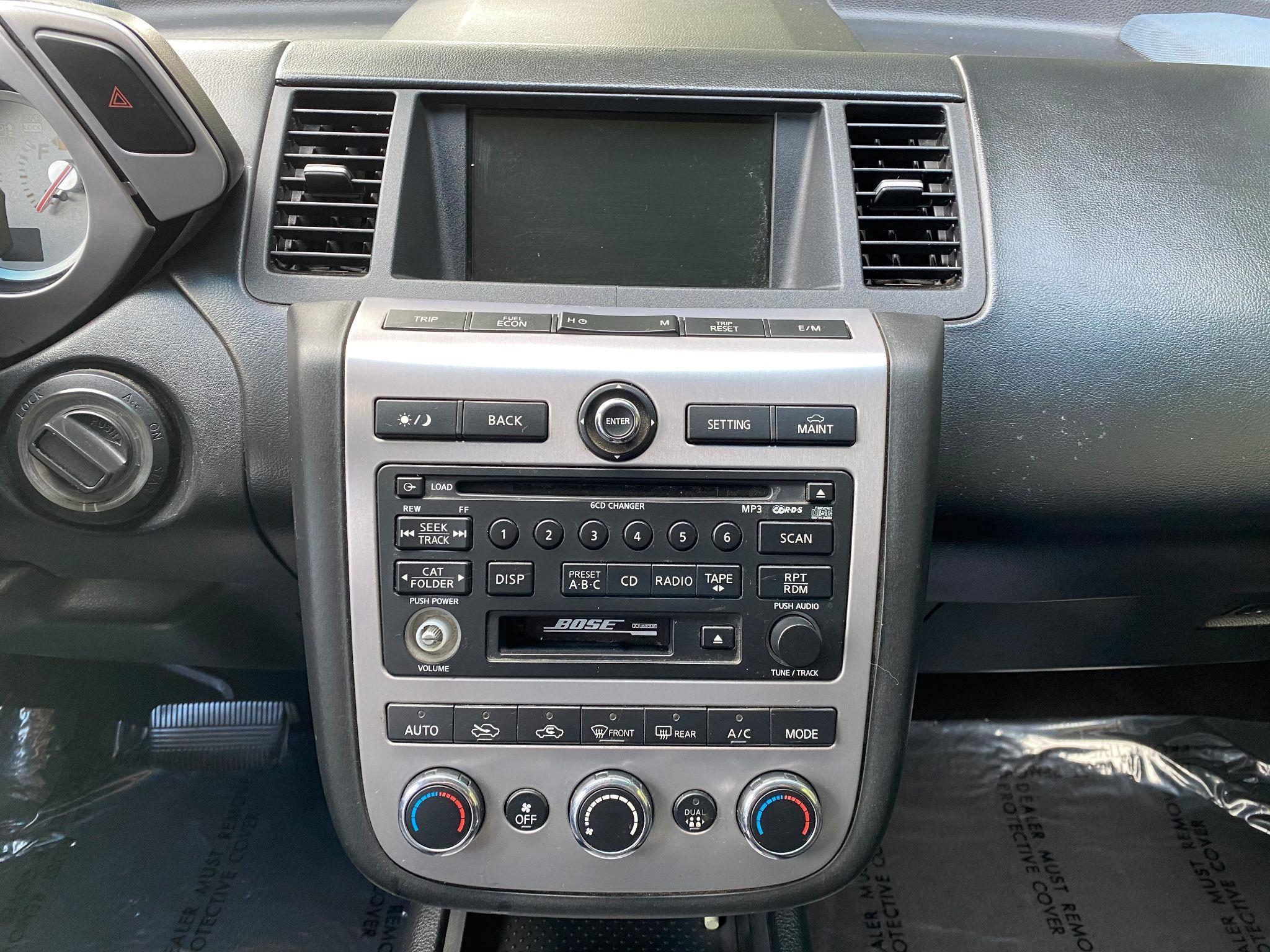 2007 Nissan Murano SL