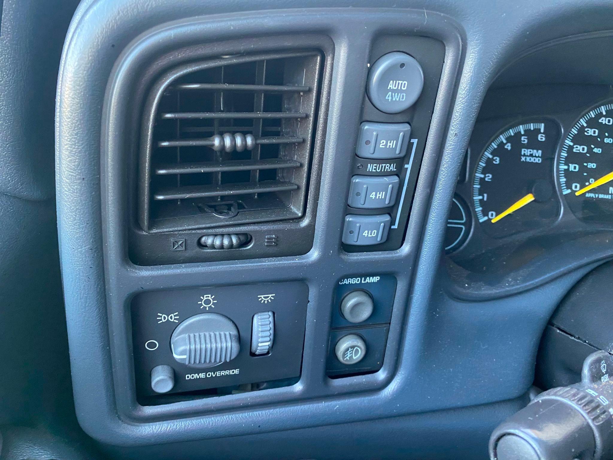 2001 Chevrolet Silverado 1500 Z71